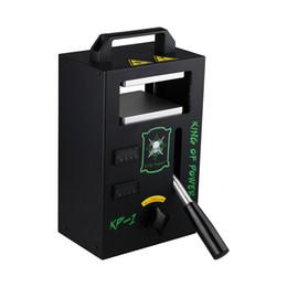 rta e cigarro Desconto Rosin Press Machine KP1 LTQ Vapor KP1 Wax DAB Squeezer temperatura ajustável extrair ferramenta Kit Presser Com 4 Toneladas DHL