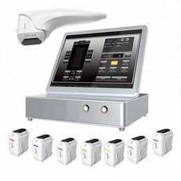 Macchine di sollevamento del corpo del viso online-Prodotti più nuovi SMAS Focused Ultrasound HIFU 3D Beauty Machine per il lifting del corpo