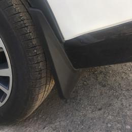 accessori mitsubishi outlander Sconti Commercio all'ingrosso 4XBlack ABS Mud flaps Parafango Dirt Parafango Accessori Auto Styling Per MITSUBISHI OUTLANDER 2015 +