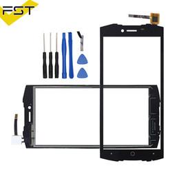 Doogee S55 Için 5.5 '' Siyah Dokunmatik Panel Dokunmatik Ekran Digitizer Sensörü Ön Dış Cam Lens Olmadan LCD + Araçları nereden