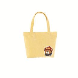 La farfalla stampa il tessuto online-Sacchetti della spesa riutilizzabili Borsa pieghevole della spesa delle donne Oxford Il fiore ecologico della farfalla stampa la borsa della spesa del cliente del tessuto