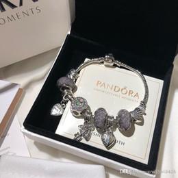 pulseras de singapur Rebajas Pandora diseñador de lujo joyería de las mujeres pulseras encanto pulsera de acero inoxidable tornillo cuff bracciali regalo de las señoras Bracciale donna caja original