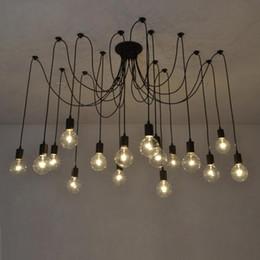 lâmpada pingente de ferro forjado moderna Desconto candelabro Nordic rural energia eólica industrial salvar tienu Sanhua retro vida bar sala de café luzes restaurante
