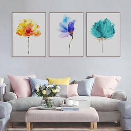 vernice quadrata bianca quadrata bianca Sconti Nuovo arrivo della decorazione della casa della tela di canapa Pittura di fiori fai da te parete di illustrazioni per verniciatura a spruzzo per Wall creativo e colorato