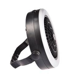 2019 открытый кемпинг вентиляторы Outdoor Camping Portable USB Rechargeable LED Multifunction Fan Light Hanging Tent Lamp дешево открытый кемпинг вентиляторы