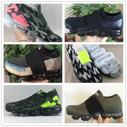 Sapatos de mulheres atléticas 35 on-line-Novo moc 2.0 V2 faixa preta Dos Homens Tênis Para Homens Sapatilhas Das Mulheres Da Moda Athletic Sport ShoeWalking Sapatos Casuais Ao Ar Livre Tamanho36-35
