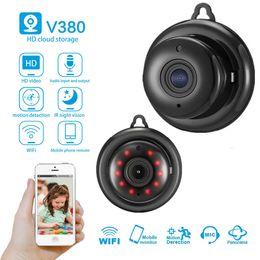 cámara de vigilancia inteligente inalámbrica cámara de vigilancia inteligente de nueva IP de WIFI Seguridad videocámara HD Inicio de visión nocturna DV DVR inalámbrico desde fabricantes