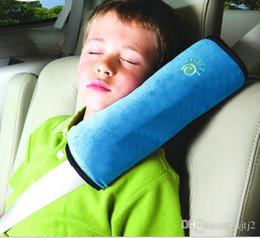 набивка ткани Скидка Оптово-Детские Авто Подушка Автомобиль Защитить Плечо Pad Детская подушка сиденья Подушки Детская подушка Защитить Плечо Pad для Сиденья H088