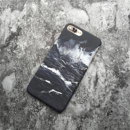 2019 onda de tinta de óleo Pintura a óleo da onda do oceano preto e branco anti-choque anti-choque do telefone móvel caso protetor caso do telefone móvel para: iphone6 6 s 7 8x além de desconto onda de tinta de óleo