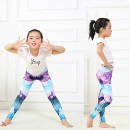 2019 pantaloni yoga modello Pantaloni da yoga per bambini Collant riflettenti Snow Mountain Mirror Pattern Asciugatura rapida Traspirante Comodo fitness da corsa Ha elasticità Pantaloni22
