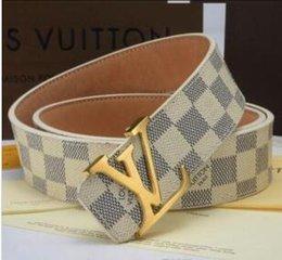 Argentina Cinturones nuevos Mens de negocio Ceinture de la hebilla de metal liso genuinos de las correas de cuero para los hombres cinturón de cintura envío Suministro