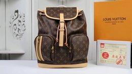 Мужская и женская сумка высочайшего класса из дуплекса из высококачественной кожи для мужчин и женщин на открытом воздухе, двусторонний туристический размер M40107 31 x 38 x 11 см от Поставщики пакет для охоты