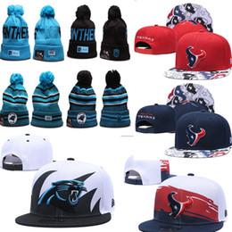 2019 Carolina Winter-Beanies Texan Hüte Bill Hysteresen Genähte Sport-Team-Logo Marke Warm Männer Frauen Panther gestrickte warme Tür Caps von Fabrikanten