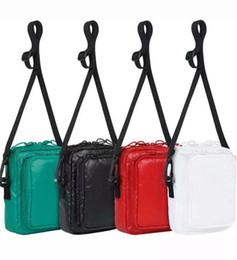 Bandolera cordura online-Sup 17fw Bolso de hombro 46th 3M Box Logo Cordura Bag con banda de hombro ajustable Nuevo