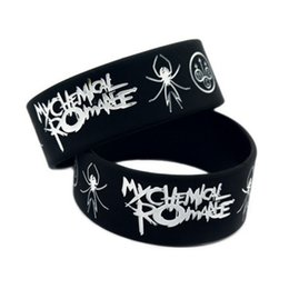 soft rubber spiders Coupons - 2018 Fashion rock rubber wristband 1PC New Romance Punk Style Silicone Soft cheap spider balck silicone bracelet