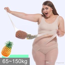 2020 medias de gran tamaño de las mujeres 6D Pantyhose de gran tamaño y gran tamaño para mujer Medias de talla grande Color sólido Transpirable Sexy Superelástico Big Nylon Pantyhose femenino medias de gran tamaño de las mujeres baratos