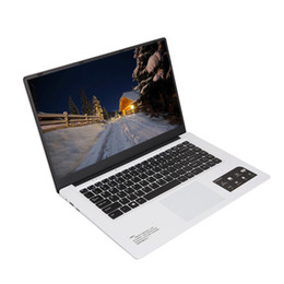15.6 polegadas 64GB ROM Laptop Notebook Intel Ultra-fino Quad-Core Laptop 15.6''Screen Display 1366 * 768 pixels 4G + 64G Windows10 Camera de