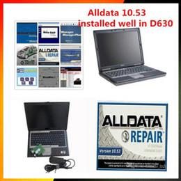 laptop di alldata mitchell Sconti 2018 alldata e mitchell software software V10.53 alldata di riparazione + mitchell 2015 a 1,5 TB HDD installato molto in 4GB D630 Laptop