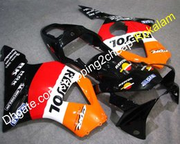 Verkleidungen für Honda 02 03 CBR900RR 954 2002 2003 CBR900 900RR Schwarz Weiß Rot Orange Motorrad Karosserie Verkleidung Kit von Fabrikanten