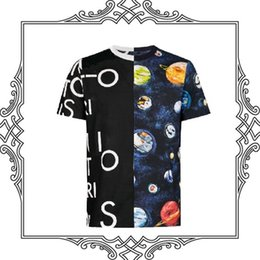 5ac40c27af 2019ss Luxo Paris Homens Camisetas de Alta Qualidade Da Moda Feminina  Tripulação Pescoço Pullovers Estrela Unisex Estilo de Rua de Algodão Mangas  Curtas T- ...