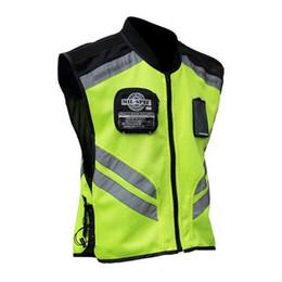 2019 uniformes de segurança LumiParty Motocicleta Equitação Colete Reflexivo Uniforme Jaqueta de Segurança Fluorescente Motocross Seguro Jaqueta Colete r25 uniformes de segurança barato
