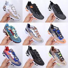 2019 sapatos de marca de calçados femininos Nike Air React Element 87Fashio off marca homens plataforma mulheres sapatas de lona mens formadores athletic branco sneakers casuais eur 36-45 sapatos de marca de calçados femininos barato