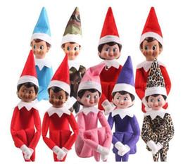 großhandel plüsch hai Rabatt 11 Styles Christmas Elf Puppe-Plüsch-Spielzeug Elfen Weihnachten Puppenkleidung auf dem Regal für Weihnachtsgeschenk Mischartauftrag