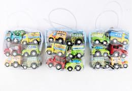 Jouet en gros enfants jouet voiture en gros retour force modèle de voiture mini voiture de police chaque pack 6 cadeaux ? partir de fabricateur
