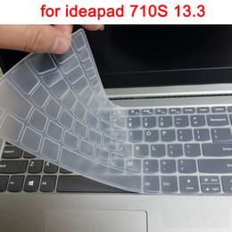 Teclado ideapad online-Cubierta del teclado del ordenador portátil lavable para Lenovo ideapad 710S 710s-13 silicona impermeable película portátil protector