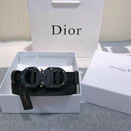 fivelas de nylon com fivela de plástico Desconto 2020 Plaid Ladies Luxury Designer Casual Belt Moda Belt Buckle lisa preta de prata fivela de alta qualidade Box Belt