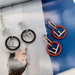 clubbing ohrringe Rabatt Übertrieben Stil FF Ohrringe für Damenmode Marke Frauen Ohrringe Zarte Ohrringe für Nachtclub Party
