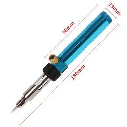 Fer à souder à gaz multifonction à température réglable Soudeur sans fil Stylo-brûleur Butane Souffler la torche Fer à souder Pistolet à air chaud ? partir de fabricateur
