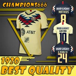 Casa monterrey online-NUEVO Llegó al 2019 2020 LIGA MX Camisetas de fútbol del Club America en casa 19 20 camisetas de fútbol del portero del Club de Cuervos Chivas Monterrey Tigres