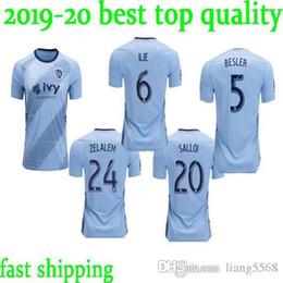 melhores camisas do esporte Desconto melhor qualidade 2019 da camisa do futebol Jersey Zusi RUSSELL ILIE Zusi SALLOI 19 20 MLS camisas de futebol 2020 Sporting Kansas City S-2XL