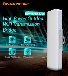 Acesso wifi ao ar livre on-line-COMFAST 2.4G Wi-Fi Access Point Wireless Outdoor Ponte 300Mbps Outdoor CPE WIFI Signal Extender CF-E314N-V2