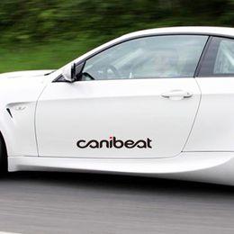 2020 adesivo auto hellaflush Canibeat Hellaflush inciso adesivi per auto adesivi riflettenti per semplice utilizzando personalizzati per Accessori esterni impermeabili adesivo auto hellaflush economici