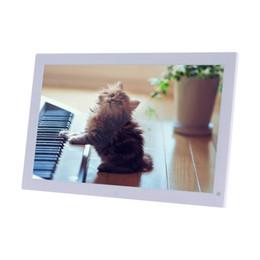 Canada Cadre photo électronique grand écran HD TFT-LCD de 18,5 pouces Cadre photo numérique Lecteur de films MP3 / 4 avec bureau à distance cheap electronic films Offre