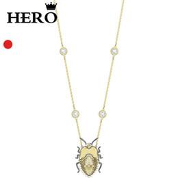 оптовая ожерелье для насекомых Скидка Герой высокое качество оригинальная копия 1: 1swa насекомых ожерелье логотип подарок предпочитаемый бесплатный пакет производители оптом