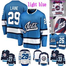 Winnipeg Jets Third Jersey 26 Blake Wheeler 27 Nikolaj Ehlers 29 Patrik  Laine 33 Dustin Byfuglien 55 Mark Scheifele Ice Hockey Jerseys e72aaf4a6