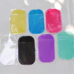 Dia de mp3 online-Silicona Gel Magic Sticky Pad Antideslizante Estera antideslizante Esteras almohadillas para teléfono PDA mp3 mp4 Coche de alta calidad un día Envío gratis