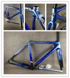 Colnago C64 sanat dekor mavi siyah parlak çerçeve BDBL Karbon bisiklet çerçeve BB386 48 cm 50mm 52 cm 54 cm 56 cm nereden