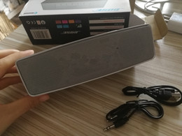 audio-promotionen Rabatt Promotion Mini drahtlose Lautsprecher Hifi-Sound-Stereo Bluetooth-Lautsprecher tragbare Mini-Freisprecheinrichtung Audio-palyer mit Kleinpaket