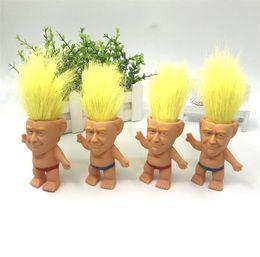 Donald Trump Action Figures Doll 10CM USA Presidente John Trump 2020 General Election Model Giocattoli magici per bambini mano gioca regali creativi A61305 da giocattolo modello gundam fornitori