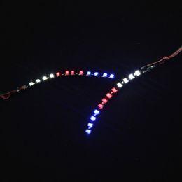 рождественские накладные ресницы Скидка Светодиодные ресницы унисекс мигает накладные ресницы сияющий подводка для глаз для вечеринки бар ночной клуб хэллоуин рождество QS888