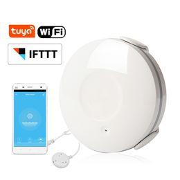 Tuya vie intelligente WiFi eau d'inondation Détecteur d'eau Détecteur de fuite Alarme Compatible IFTTT ? partir de fabricateur