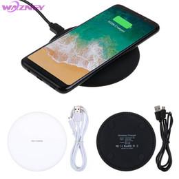 Deutschland Ultradünnes QI schnelles drahtloses Aufladeeinheits-aufladenmatten-Auflage N5 für Samsung-Galaxieanmerkung iphone huawei xiaomi cheap wireless charger mat qi Versorgung