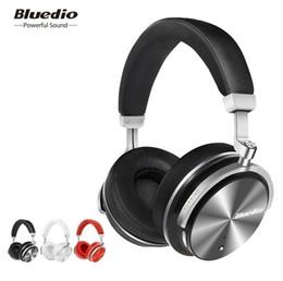 Bluedio T4S Cancelación de ruido activa Auriculares inalámbricos Bluetooth Auriculares inalámbricos con micrófono para iPhone Samsung (minorista) desde fabricantes