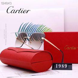 2019 gafas de sol deportivas naranjas para mujer Gafas de Sols de lujo damaGafas de sol para mujer conduciendo gafas de sol UV400 jb alta calidadCartiers regalo