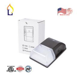 Deutschland 5pc / lot LED-Wand-Satz-Licht 15W (Dämmerung zu Dämmerung Lichtschranke Sensor Wasserdicht IP65) 100-277VAC Außenbeleuchtung mit 5-Jahres-Garantie Versorgung