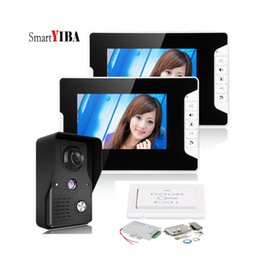"Système d'interphone vidéo SmartYIBA 7 ""Wired Video Doorbell Interphone Infrarouge Vision Nocturne Caméra Étanche ? partir de fabricateur"